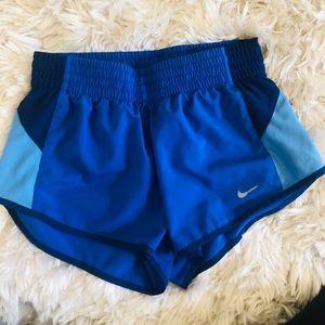 Blue Nike Dri-Fit Shorts 💙